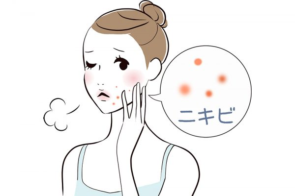 にきびというのは、主に顔にできる発疹のことです。